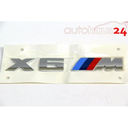- BMW X6 M F86 TRI COLOR EMBLEM LOGO BADGE GENUINE OEM 2014-2016 51 14 8 057 983