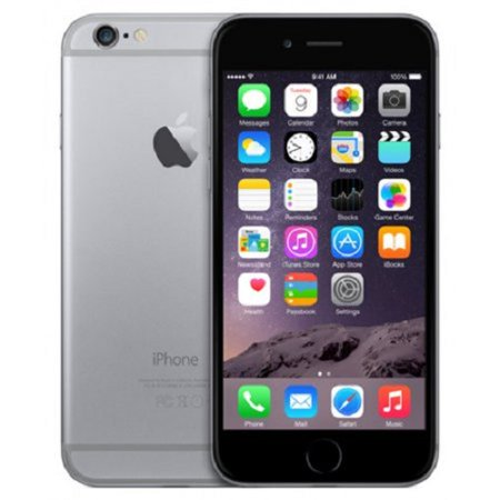 Refurbished Apple iPhone 6 16GB, Space Gray -