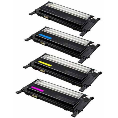 Universal Inkjet Premium Compatible Samsung CLT-K406S/CLT-C406S/CLT-M406S/CLT-Y406S Cartridges, 4-Pack