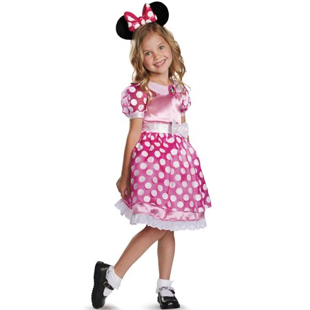 Pink Minnie Mouse Light-Up Toddler Costume (Mickey And Minnie Halloween Costumes Diy)