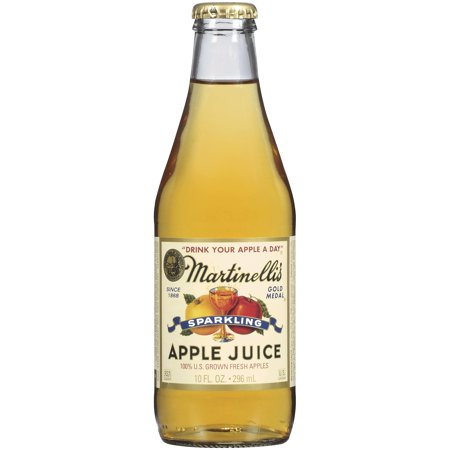 Mini Sparkling Cider Bottles (MARTINELLI'S GOLD MEDAL®  Sparkling  100% Apple Juice 10 FL OZ GLASS)