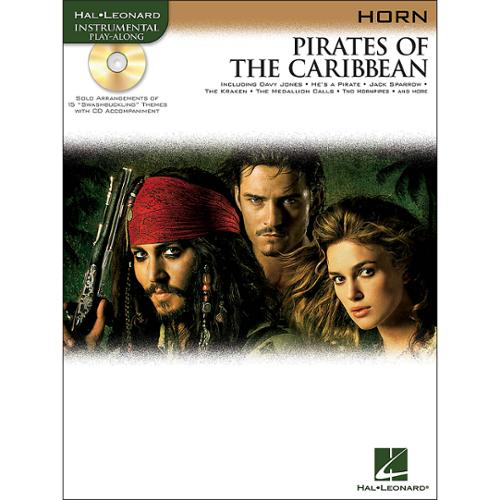 Hal Leonard Pirates of the Caribbean  for Horn -Audio Online