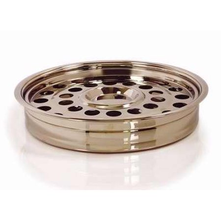 Communion Remembranceware Brasstone One Pass Tray And Disc  Stainless Steel