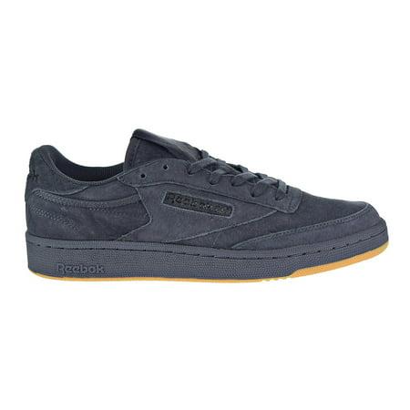 09e3f0e53f5056 Reebok - Reebok Club C 85 TG Big Men s Shoes Lead Black Gum bd1885 -  Walmart.com