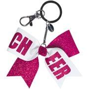 Chass Girls' Mini Cheer Bow Keychain