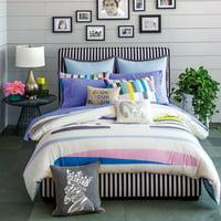 9 by Novogratz Dream in Color Soft Duvet Set