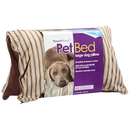 Poochplanet Large Dog Pillow Pet Bed 1 Pk Walmart Com