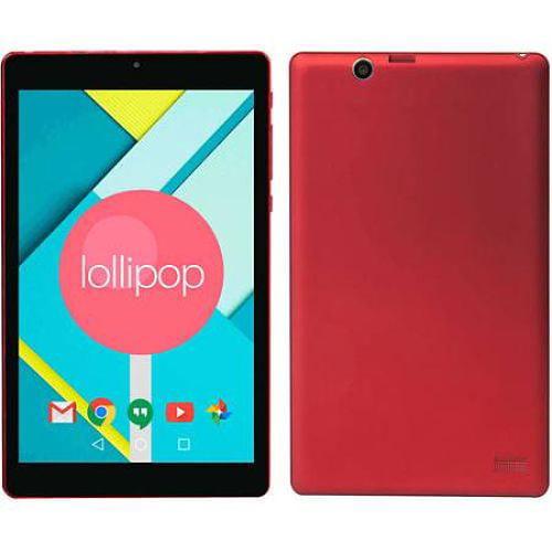 "Refurbished Nextbook Ares NXA8QC116R 8"" Tablet 16GB Red"