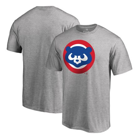 - Chicago Cubs Fanatics Branded Big & Tall Cooperstown Collection Huntington T-Shirt - Heathered Gray