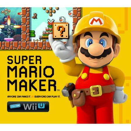 Refurbished Nintendo Wii U Super Mario Maker Console Deluxe Set - Walmart Exclusive
