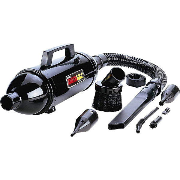 Metro Data Vac Pro Mdv-1bac Portable Vacuum Cleaner - 0.5hp Motor - 1.73a (mdv1bac)