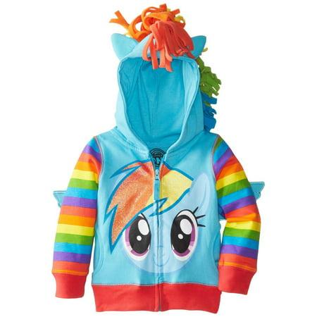 Freeze Girls' My Little Pony Rainbow Dash Hoodie](My Little Pony Jacket)