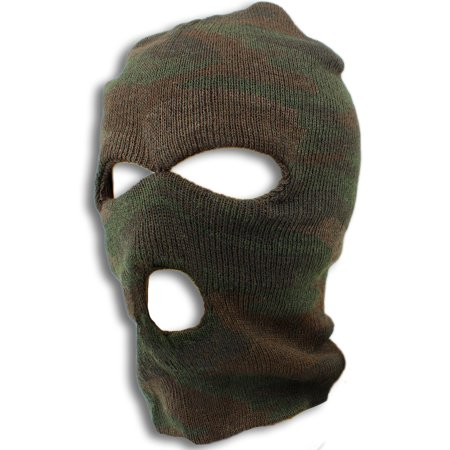 Brown Camo Ski Mask - Camouflage Gear by bogo Brands