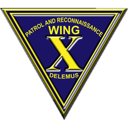 Navy Wings Insignia (LAMINATED POSTER Insignia of the U.S. Navy Patrol and Reconnaissance Wing 10. Poster Print 24 x 36 )