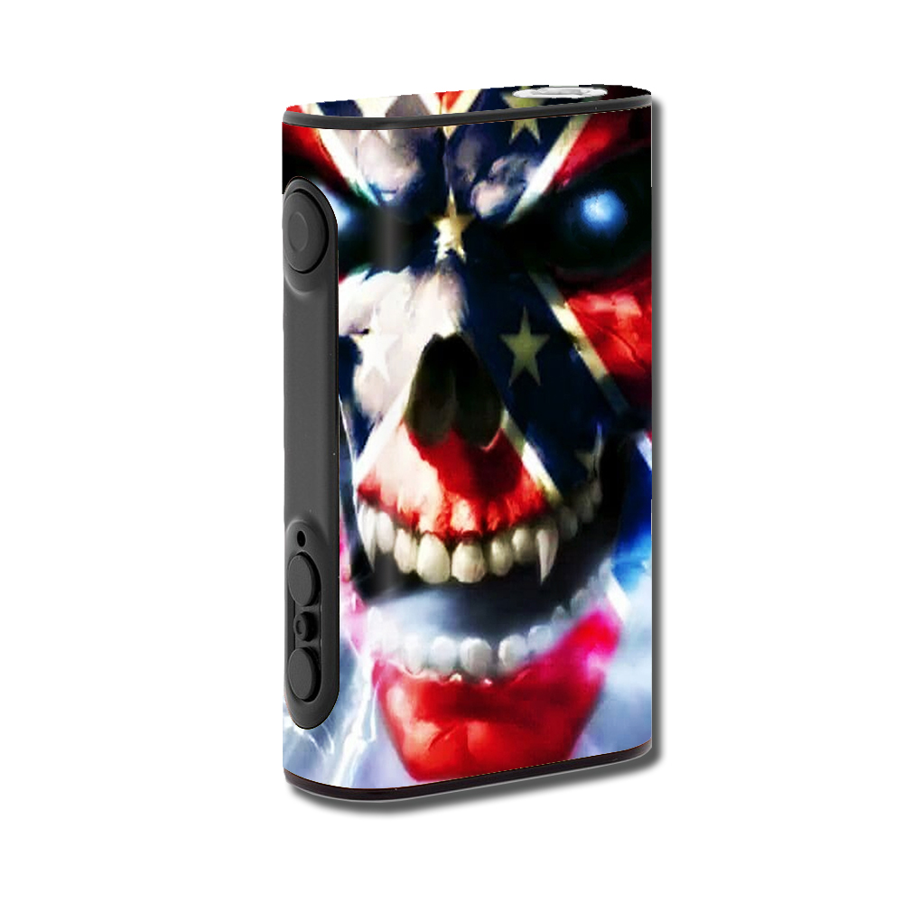 Skins Decals For Eleaf Ipower 80W Vape Mod / Southern Skull Flag The South