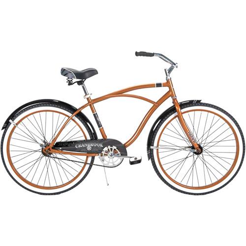 "Huffy Cranbrook 26"" Men's Bike Cruiser, Bronze"
