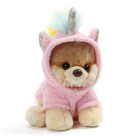 World's Cutest Dog Boo Itty Bitty Boo #044 Unicorn Stuffed Animal Plush, 5