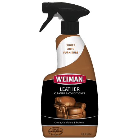 weiman leather cleaner conditioner 16 fl oz best surface care protection. Black Bedroom Furniture Sets. Home Design Ideas