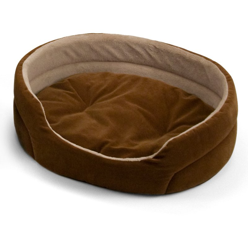 Brinkmann Oval Corduroy Pet Bed