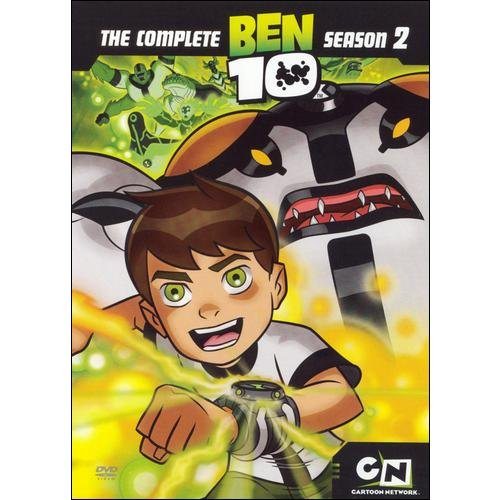 BEN 10-SEASON 2 (DVD/2 DISC/13 EPISODES/COLLECTOR POSTER)