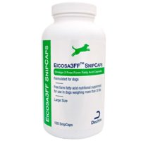 Dechra Eicosa 3FF SnipCaps Large Dogs over 30 lbs 120ct