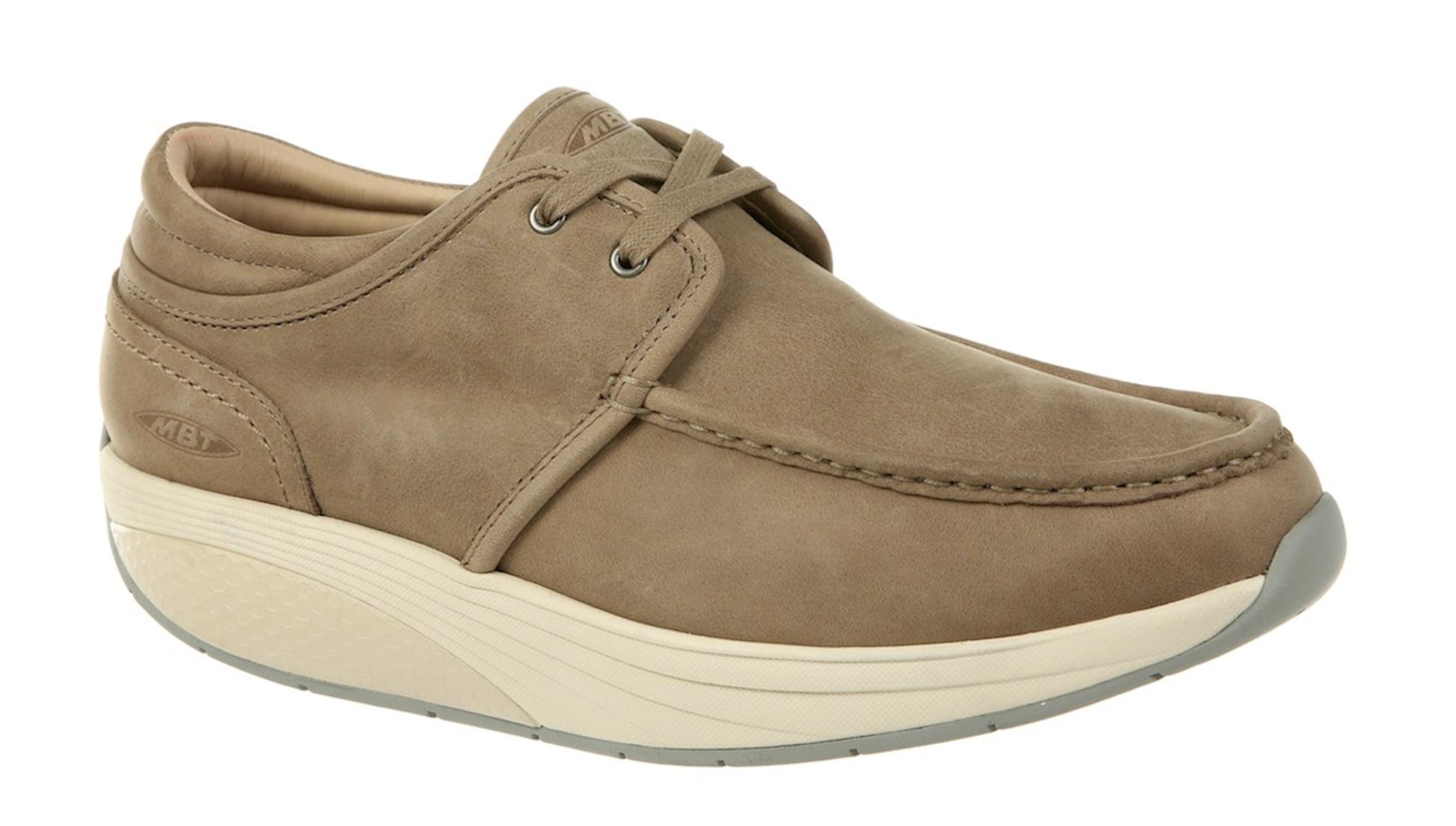 MBT Shoes Men's Kheri 6S Lace Up Casual Shoe: 7 Medium (D) Taupe/Grey Lace Up