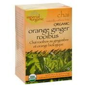 Uncle Lee'S Imperial Organic Orange Ginger Rooibus Chai Tea, 18 Tea Bags
