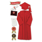 Jolee's Seasonal Stickers, Red Graduation Cap and Gown