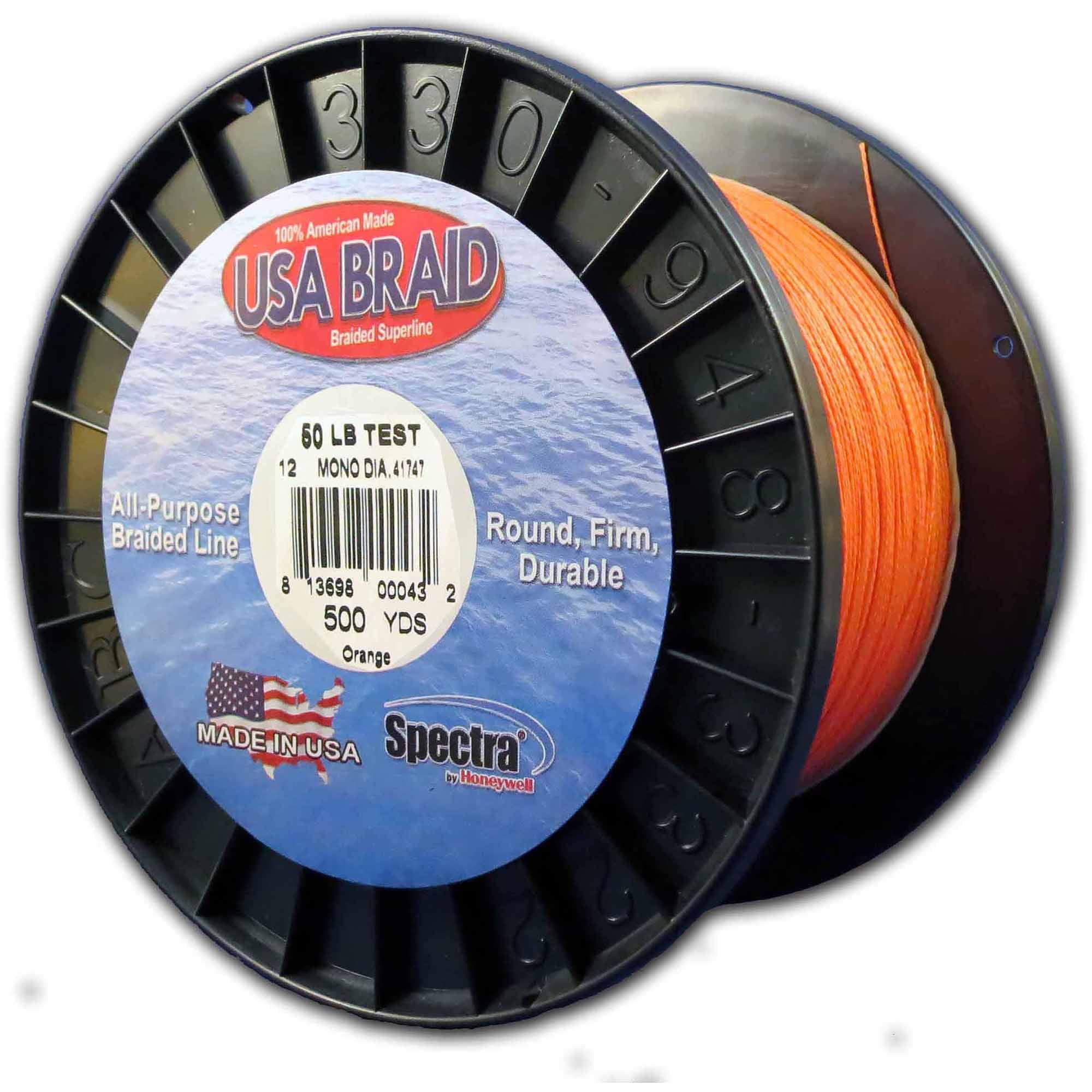 Spectra Orange All-Purpose Braided Superline by