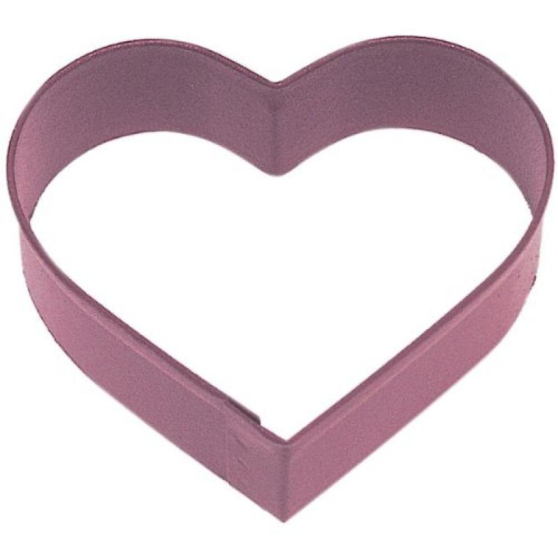 HEART RED POLY RESIN cookie cutter 3.25 in. PR1159R