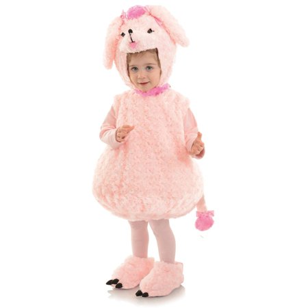 Toddler Pink Poodle Belly Babies Costume for Toddler - Poodle Costume Toddler