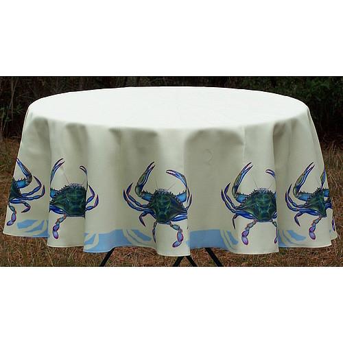 Betsy Drake Interiors Crab Tablecloth