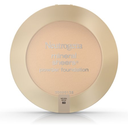 Neutrogena Mineral Sheers Compact Powder Foundation Spf 20, Natural Beige 60,.34