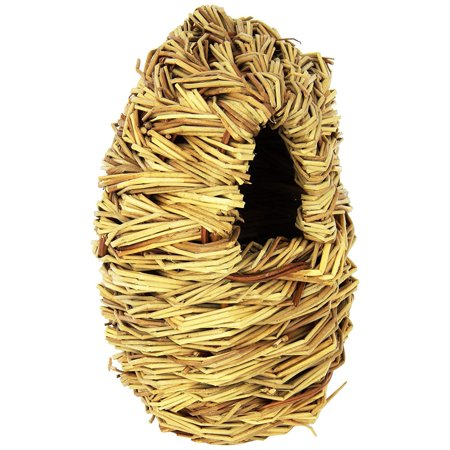 BPV1152 Natural Fiber Parakeet Covered Twig Nest, Large, All natural By Prevue Pet Products (All Nest Products)