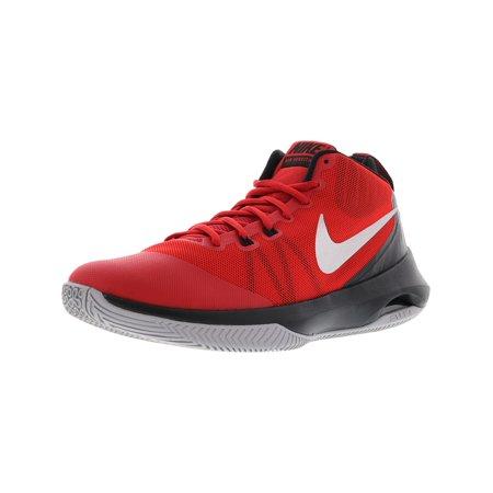 purchase cheap 1f7c7 66804 Nike Men s Air Versitile Black   Metallic Silver Ankle-High Fabric Tennis  Shoe - 9.5 ...