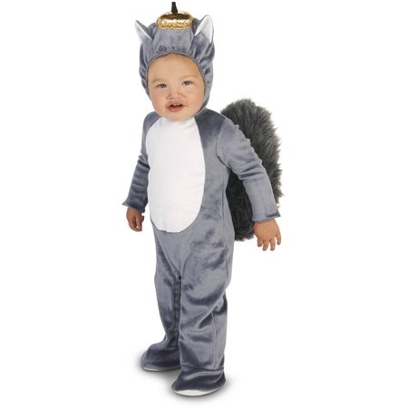 Grey Squirrel Infant Halloween Costume
