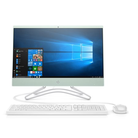"HP 22 All-in-One, 22"" Display, Intel Celeron G4900T 2.9 GHz, 4GB RAM, 1TB HDD"