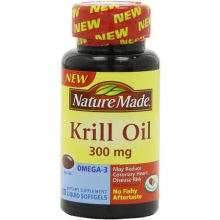 Nature Made Krill Oil 300 Mg Softgels - 60 Ea