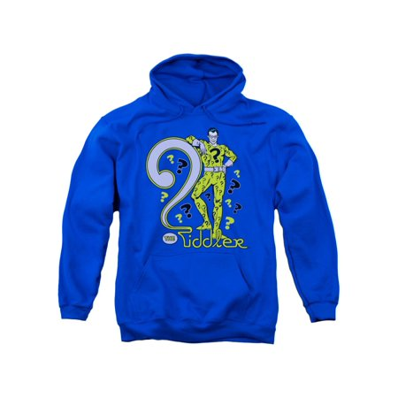 DC Comics The Riddler Supervillain Adult Pull-Over Hoodie