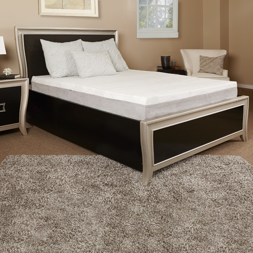 Luxury Solutions 10'' Gel Medium Memory Foam Mattress