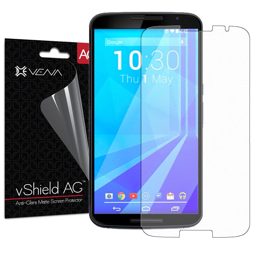 Google Nexus 6 Screen Protector - Vena vShield [Anti-Glare Matte] Anti-Scratch Shield for Google Nexus 6 (3 Pack)