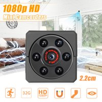 Wireless Camera, 1080P HD Mini Wireless USB Smart Home Security Surveillance Camera ,Motion Detector, Night Vision,Car DVR Camcorder with Vehicle Camera Base Clip