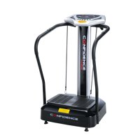 Confidence Fitness Whole Body Vibration Platform Trainer Fitness Machine with Arm Straps