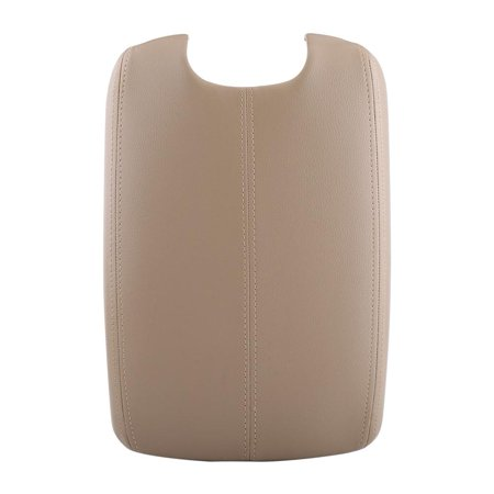 LAFGUR Car Armrest Cover Artificial Leather Armrest Center Console Lid Cover Auto Armrest Cushion For Accord 2008-2012 (Cruise Time Car Seat Cover)