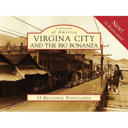 Virginia City And The Big Bonanza  Postcards Of America   Nv