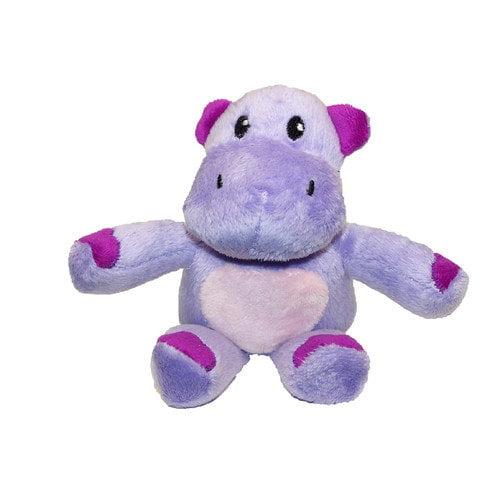 Phoenix Custom Promotions, Inc.  45200 Haley the Hippo Plush Purple and White