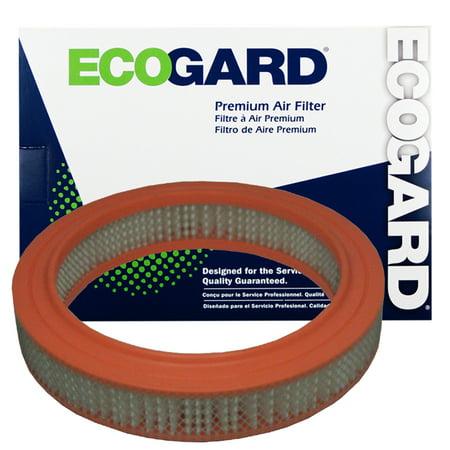 ECOGARD XA16 Premium Engine Air Filter Fits Ford Courier; Honda Accord, Prelude; Mazda B2200, B2000, 626, B1600, B1800, 808, Rotary