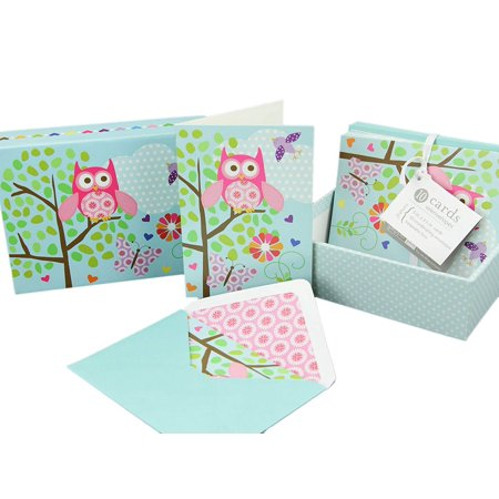 10 Blank Inside Note Cards And Matching Envelopes W A Cute Keepsake Box