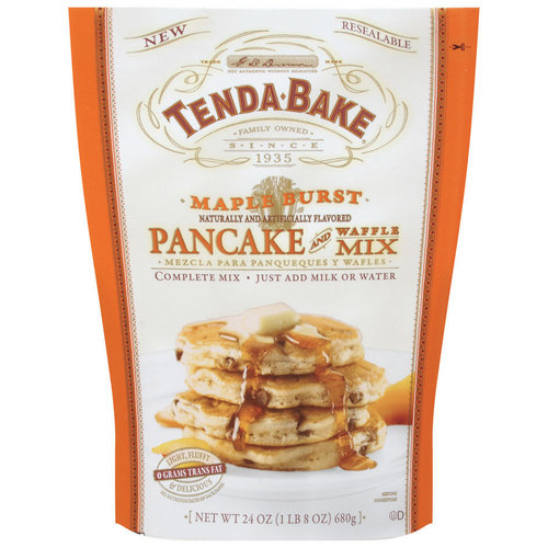 Tenda Bake Maple Burst Pancake & Waffle Mix, 24 oz