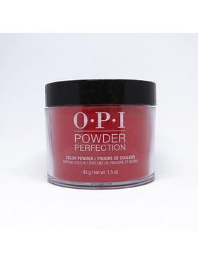 OPI Powder Perfection Nail Dip Powder, Color So Hot It Berns,